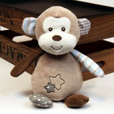 Soft Plush Baby Toy Max the Monkey by Alluring Baby Co New Stuffed Gift 18 cm