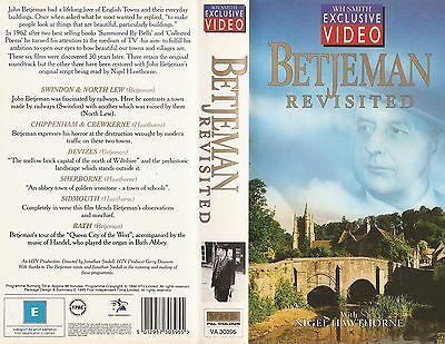 Betjeman Revisited  - Archive Film - VHS