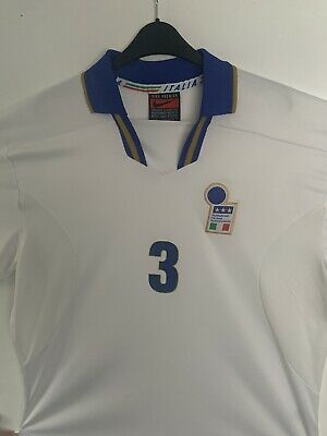 f7840d1b1b2 MALDINI #3 ITALY Vintage Nike Home Football Shirt 1996/97 (L) (XL ...
