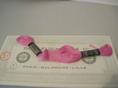 29 NEW Skeins DMC Embroidery Floss #604  LIGHT PINK  6 Strand  MADE IN FRANCE