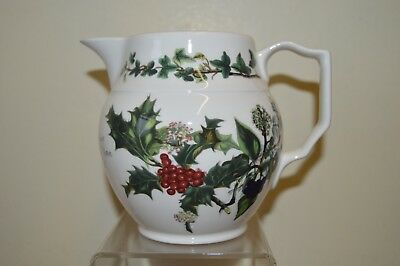 Portmeirion Holly & Ivy 1 Pint Staffordshire Jug New & Unused