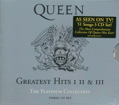 Queen  - Greatest Hits I II & III - The Platinum Collection - 3CD Set (New CD)