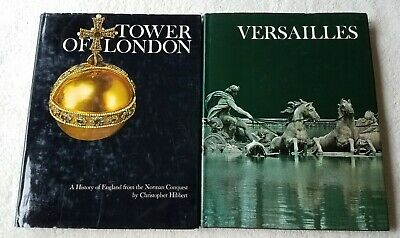 Newsweek - Wonders Of Man -Tower Of London-1981 & Versailles-1980 - Hibbert