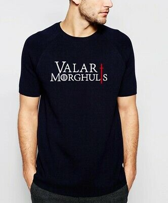 Printed Game Of Thrones Valar Morghulis  Fancy  T-Shirt Unisex  Heavy Cotton
