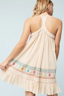 11b958a1be29 NWT Anthropologie Akemi + Kin Vinales embroidere Swing Summer Dress 2P 2  ($158)