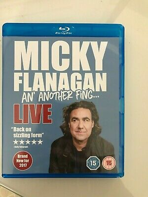 Micky Flanagan - An' Another Fing Live [Blu-ray] -new unsealed