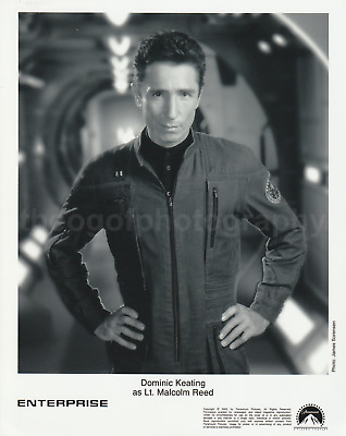 DOMINIC KEATING as Lt. Malcolm Reed ENTERPRISE 8x10 Found Photo STAR TREK 711 14