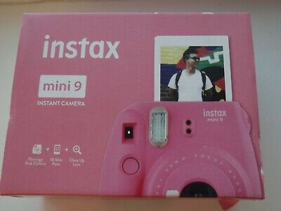 INSTAX mini 9 Instant Camera - Flamingo Pink new sealed