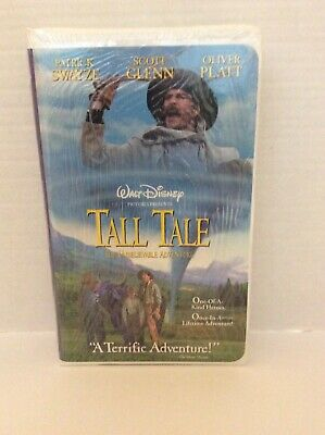 Walt Disney Tall Tale: The Unbelievable Adventure VHS Never Opened