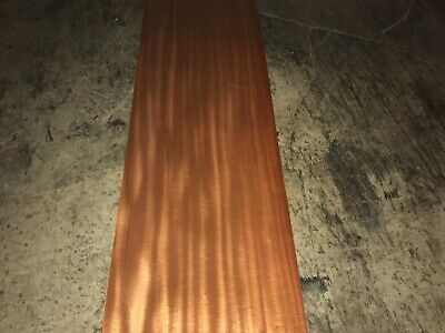 Mahogany Wide Wood Veneer. 17.5 x 117, 3 Sheets.