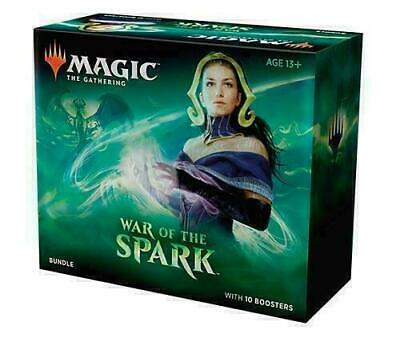 MTG Magic the Gathering War of The Spark Bundle 10 Boosters Free Shipping
