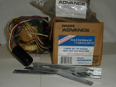Philips 71A8443001D Ballast Kit New In Box