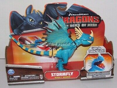 Dreamworks How to Train Dragon Dragons Defenders of Berk Stormfly Light Up