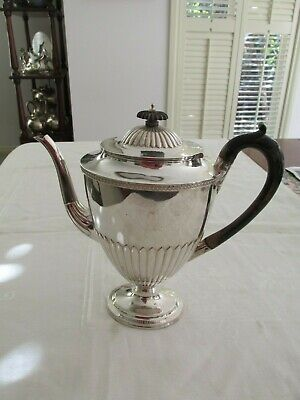 Antique Sterling Silver Coffee Pot London 1882 - 1883 Jackson & Chase ??