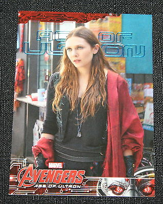 2015 Upper Deck Marvel Avengers Age Of Ultron Blue Parallel #46 Serial #d Of 199 Collectibles