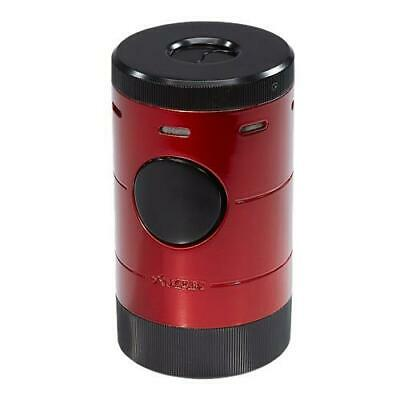 XIKAR Volta Quad Flame Tabletop Cigar Torch Lighter in RED - SHIPS FREE