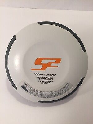 Sony S2 CD Walkman D-NS505 Atrac3plus MP3 Tested and Working