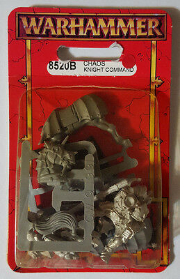Chaos Knight Command-Classic Metal Sealed Blister-Warhammer # 1F79