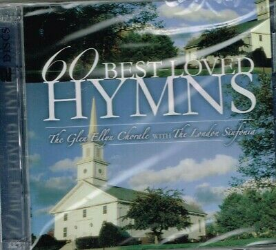"""60 BEST - LOVED HYMNS"" - Brand New SEALED 2 CD set - Choir and Orchestra GOSPEL"