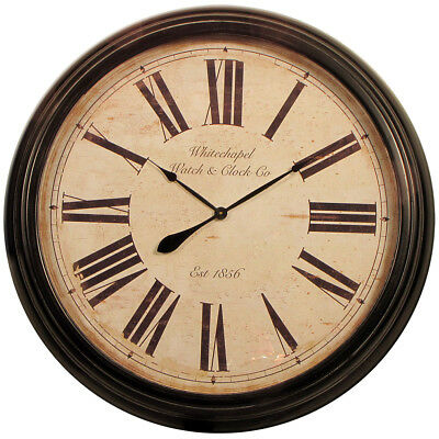 Antique-Style Clock 93cm - Second - Slight scuff marks. Distressed look.