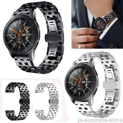 Stainless Metal Watch Band Wristband Strap For Samsung Gear S3 Frontier /Classic