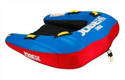 2019 Jobe Tribal Towable Inflatable Tube, 2 or 3 Riders Red Blue. 41127