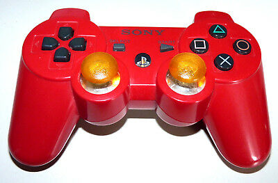 Original Sony Sixaxis Wireless Controller Playstation 3 Rot Deutsch Ps3 Ps 3 Red