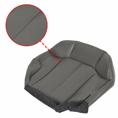 Driver Bottom Seat Cover Gray For 1999 2000 2001 2002 Chevy Tahoe Suburban