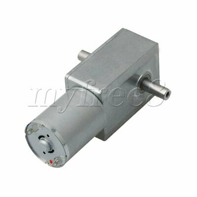 JGY370 12V 6rpm Metal Electrical Speed Reducer Geared Reduction Motor DC Motor