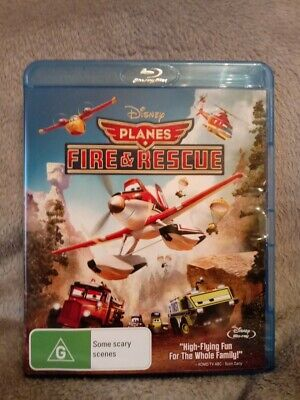 Disney's Planes: Fire & Rescue Region Free Blu-Ray NEW/UNSEALED