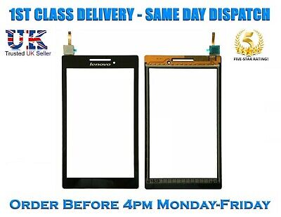 Lenovo TAB 2 A7-10 A7-10F A7-20 A7-20F Tablet Touch Screen Digitizer Glass Black
