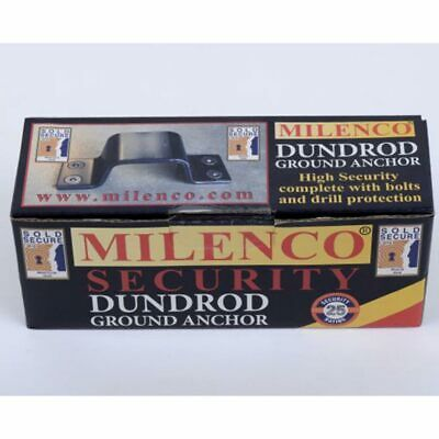 Milenco Dundrod Ground Anchor Sold Secure Gold Rated Security Device
