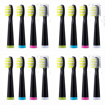 16pcs Fairywill Sonic Electric Toothbrush Replacement Heads for 507 508 959 917