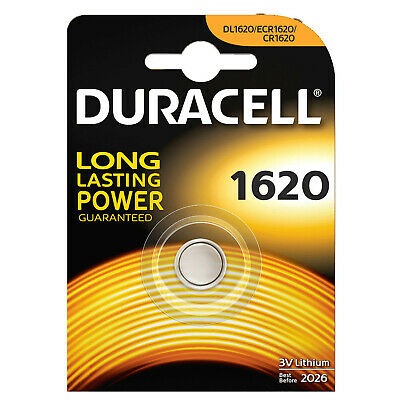 IA676 Duracell 1620 3V Lithium Battery / Batterie CR1620 (BB 2024)