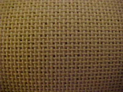 DMC 24ct White with Gold Thread Congress Cloth Needlepoint Canvas  Choose Size!