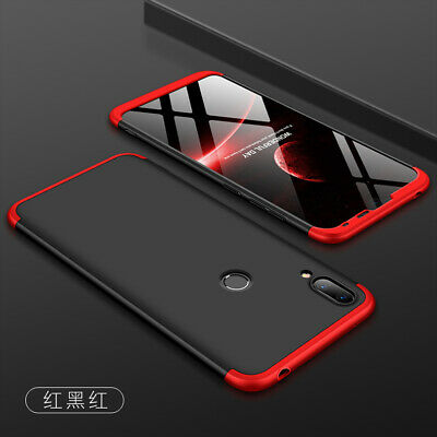 For Huawei Y6 Y7 Y9 Pro 2019 Prime 360 Full Protection Case Hybrid Armor Cover