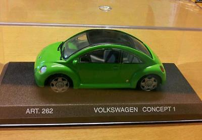 ORIGINAL Modellauto VW Concept 1 New Beetle - 1994 Detail Cars REVELL 1:43