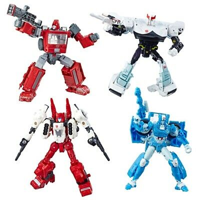 Transformers Generations Takara Tomy Siege Wave 2 Deluxe Class Set Of 4 Figures