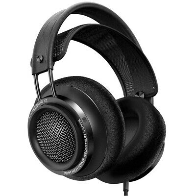 Philips Fidelio X2 Premium Over-Ear Open-Air Headphone - Black