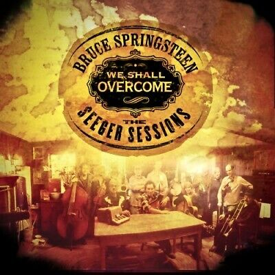 COLUMBIA DualDisc CD: Bruce Springsteen, We Shall Overcome, Seeger Sessions 2006