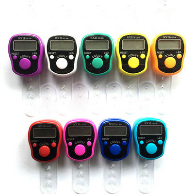 1pc Digital Finger Ring Tally Counter Hand Held Knitting Row counter CLICKER