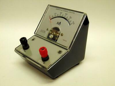 1 Vintage Griffin & George 100 Microammeter Moving Coil Meter