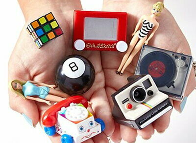 Doll House Miniature World's Smallest Record Player Turntable Fisher Price Toys