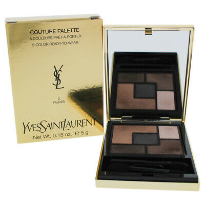 ebf37faebf6 Couture Palette - 2 Fauves by Yves Saint Laurent for Women - 0.18 oz Eye  Shadow