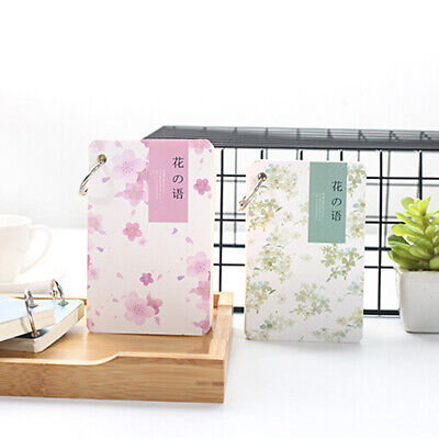 Portable Mini Hardcover Notebook Notepads Memo Diary Fruit Printed Pages Y