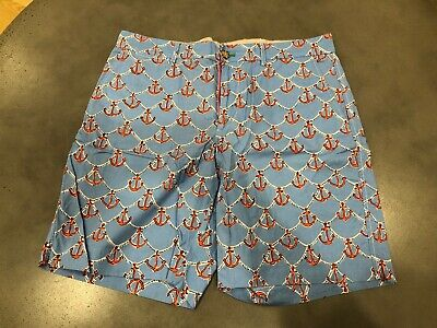 56b8ca259b LILLY PULITZER MEN'S Anchors Away Fitz Shorts - Size 34 - EUC ...