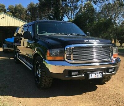 FORD 2002 F250 XLT 5.4 Dual Crew Cab Ute 4 Door Petrol & Gas Tow Vehicle