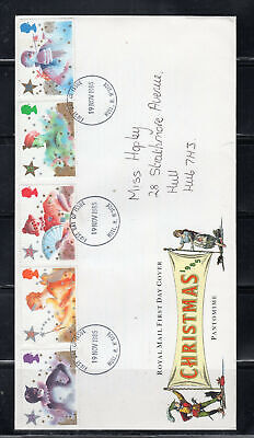 1985 Great Britain Stamps Fdc Cover First Day Issue Christmas Lot 6125
