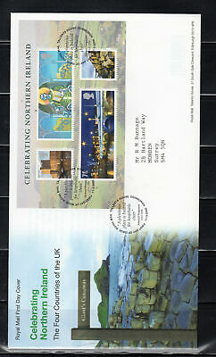 2008 Great Britain Stamps Fdc Cover First Day Issue Northern Ireland Lot 6010