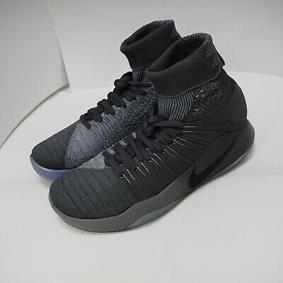 12edf759dffa03 Nike Hyperdunk 2016 Flyknit Left Foot With Discoloration Men US8.5  843390-002